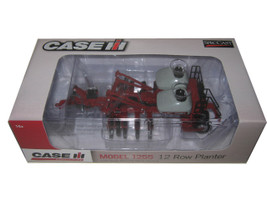 Case IH Agriculture 1255 12 Row Planter with Tanks 1/64 Diecast Model Speccast ZJD1749
