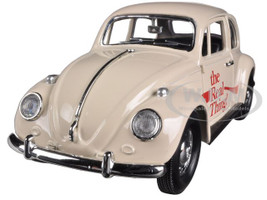 """1966 Volkswagen Beetle """"Coca Cola"""" The Real Thing 1/24 Diecast Car Model Motorcity Classics 440047"""