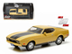 "1973 Ford Mustang Mach 1 Yellow ""Eleanor"" ""Gone in Sixty Seconds"" Movie (1974) 1/43 Diecast Model Car Greenlight 86412"
