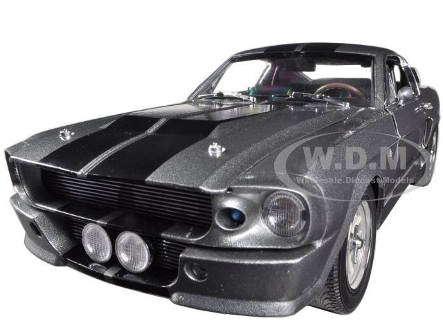 1967 Shelby Gt500 Eleanor >> 1967 Ford Mustang Custom Eleanor Gone In 60 Seconds 2000 Movie 1 18 Diecast Car Model By Greenlight