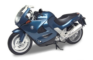 BMW K1200RS Blue 1/6 Diecast Motorcycle Model Motormax 76251