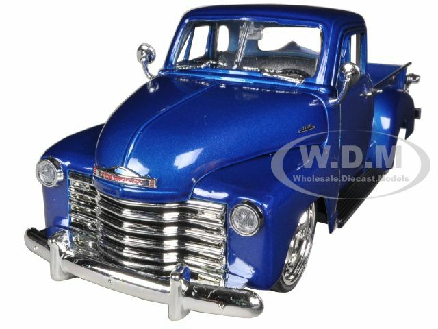1953 Chevrolet 3100 Pickup Truck Blue 1/24 Diecast Model Jada 96864