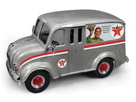 "1950 Divco Delivery Truck ""Texaco"" (2014) Brushed Metal Special Edition Series #31 1/25 Diecast Model Car Autoworld CP7156"