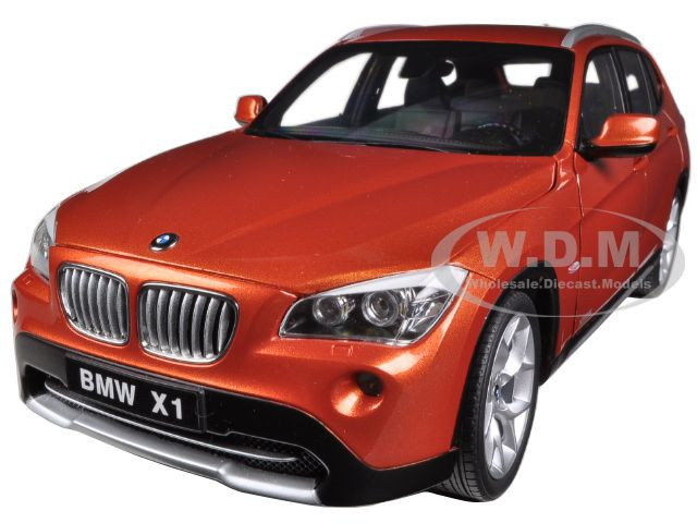BMW X1 xDrive 2.8i E84 Valencia Orange 1/18 Diecast Car Model Kyosho 08791 VP