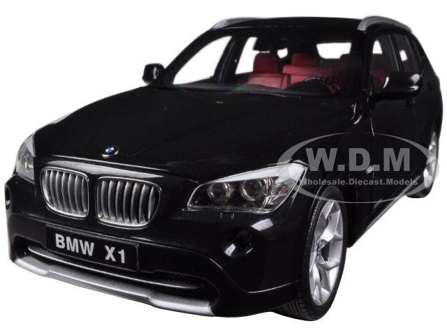 BMW X1 xDrive 2.8i E84 Black Sapphire 1/18 Diecast Car Model Kyosho 08791 BKS