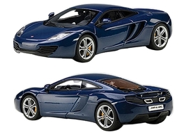 Mclaren MP4-12C Azure Blue 1/43 Diecast Car Model Autoart 56004