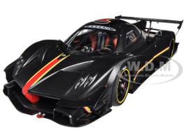 Pagani Zonda Revolution Revolucion Black Carbon Fiber 1/18 Diecast Model Car Autoart 78272