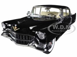 1955 Cadillac Fleetwood Series 60 Special Black 1/18 Diecast Car Model Greenlight 12923