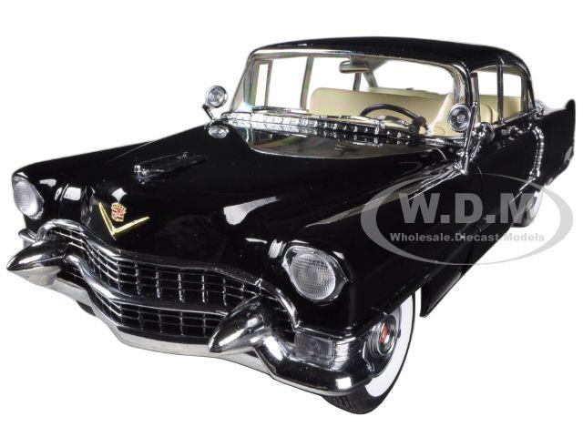 1955 Cadillac Fleetwood Series 60 Special Black 1/18 Diecast Car Model Greenlight 12923