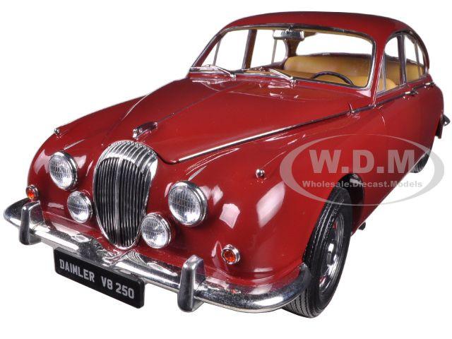 1967 Daimler V8-250 Regency Maroon  1/18 Diecast Model Car Paragon 98312