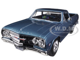 1965 Chevrolet El Camino Blue 1/25 Diecast Car Model Maisto 31977