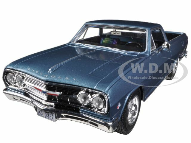 1965 Chevrolet El Camino Blue 1/25 Diecast Car Model Maisto 31977