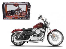 2012 Harley Davidson XL 1200V Seventy Two Motorcycle Model 1/12 Maisto