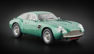 1961 Aston Martin DB4 GT Zagato Racing Green 1/18 Diecast Car Model CMC 132