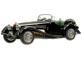 1931 Bugatti Type 54 Roadster Black 1/18 Model Car Mullin Collection Minichamps 107110160