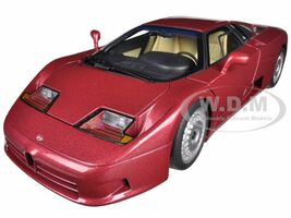 Bugatti EB110 GT Dark Red 1/18 Diecast Car Model Autoart 70977