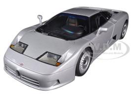 Bugatti EB110 GT Silver 1/18 Diecast Car Model Autoart 70979