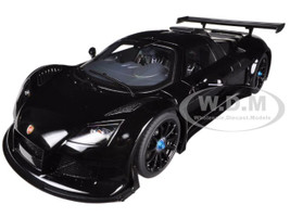 Gumpert Apollo S Black 1/18 Diecast Car Model Autoart 71301