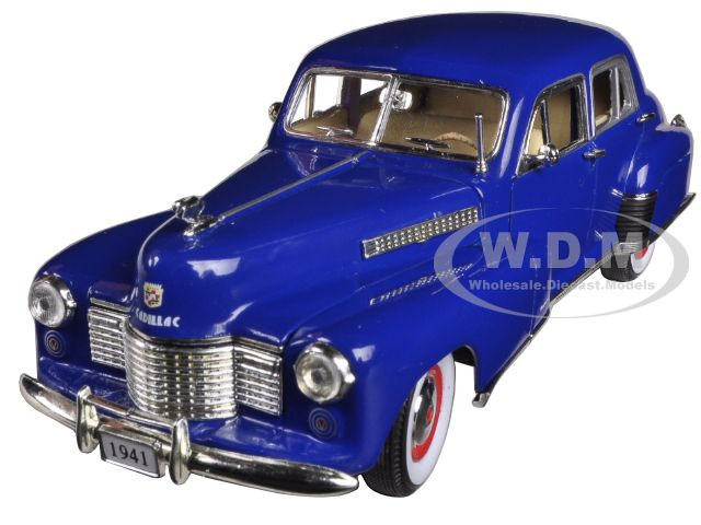 1941 Cadillac Series 60 Special Blue 1/32 Diecast Car Model Signature Models 32357