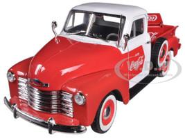 1953 Chevrolet Pickup Truck Coca Cola with Cooler 1/32 Diecast Car Model Motorcity Classics 440664