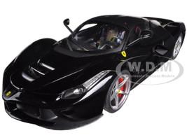 Ferrari Laferrari F70 Hybrid Elite Edition Black 1/18 Diecast Car Model Hotwheels BCT80