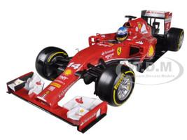 2014 Ferrari F1 F14 T Formula 1 F2014 Fernando Alonso 1/18 Diecast Car Model Hotwheels BLY67
