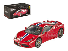 Ferrari 458 Italia Speciale Elite Edition 1/43 Diecast Car Model Hotwheels BLY45