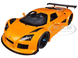 Gumpert Apollo S Metallic Orange 1/18 Diecast Car Model Autoart 71302