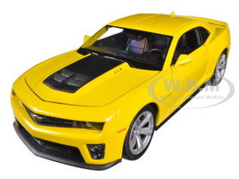 Chevrolet Camaro ZL1 Yellow 1/24 Diecast Car Model Welly 24042