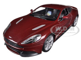Aston Martin Vanquish Bronze 1/24 Diecast Car Model Welly 24046