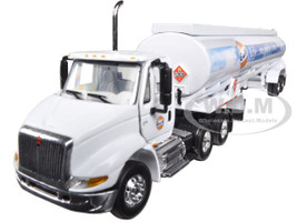 "International 8600 ""GULF"" with 42' Fuel Tank Trailer 1/64 Diecast Model First Gear  69-0290"