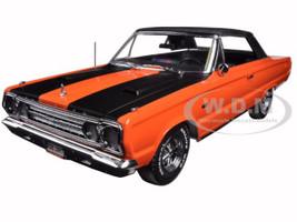 "1967 Plymouth Belvedere GTX Convertible Orange ""Joe Dirt"" Movie (2001) 1/18 Diecast Car Model Greenlight 19006"
