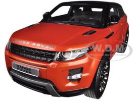 Range Rover Evoque Orange 2 Doors 1/18 Diecast Car Model Welly 11003
