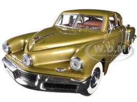 1948 Tucker Torpedo Gold 1/18 Diecast Model Car Road Signature 92268