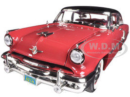 1952 Lincoln Capri Burgundy 1/18 Diecast Car Model Road Signature 92808