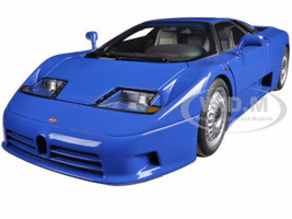 Bugatti EB110 GT Blue 1/18 Diecast Model Car Autoart 70976