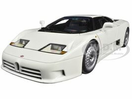 Bugatti EB110 GT White 1/18 Diecast Model Car Autoart 70978