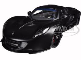 Hennessey Venom GT Matt Carbon Black 1/18 Diecast Model Car Autoart 75401