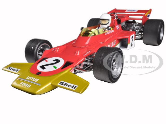Lotus 72C #2 Jochen Rindt 1970 German Grand Prix Winner Limited Edition to 1500 1/18 Diecast Model Car Quartzo 18271