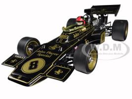 Lotus 72D #8 Emerson Fittipaldi 1972 British Grand Prix Winner Limited Edition to 1900pcs 1/18 Diecast Model Car Quartzo 18280