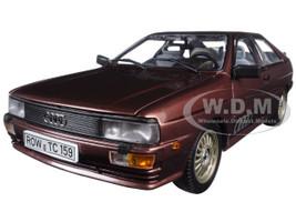 1981 Audi Quattro Coupe Saturn Metallic 1/18 Diecast Model Car Sunstar 4159