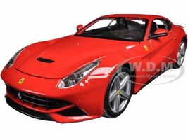 Ferrari F12 Berlinetta Red 1/24 Diecast Model Car Bburago 26007