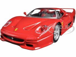 Ferrari F50 Red 1/24 Diecast Model Car Bburago 26010