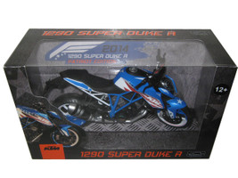 2014 KTM 1290 Super Duke R Patriots Edition Motorcycle Model 1/12 Automaxx 605102