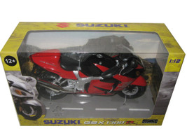 Suzuki GSX 1300 R Red/Black Motorcycle Model 1/12 Automaxx 600202