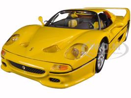 Ferrari F50 Yellow 1/18 Diecast Model Car Bburago 16004