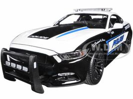 2015 Ford Mustang GT 5.0 Police 1/18 Diecast Model Car Maisto 36203