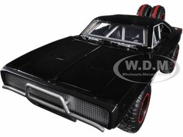 "Dom's 1970 Dodge Charger R/T Off Road Version ""Fast & Furious 7"" Movie 1/24 Diecast Model Car Jada 97038"