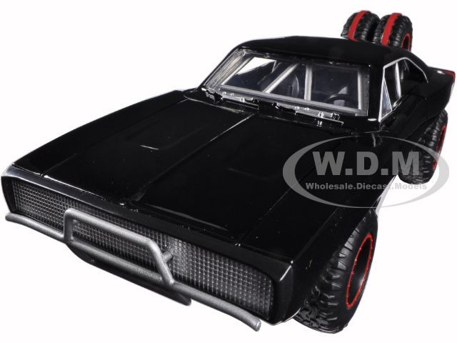 """Dom's 1970 Dodge Charger R/T Off Road Version """"Fast & Furious 7"""" Movie 1/24 Diecast Model Car Jada 97038"""