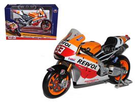 2014 Repsol Honda #93 RC2 13V Marc Marquez Motorcycle Model 1/10 Maisto 31406